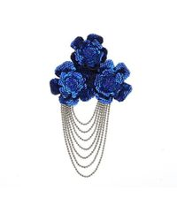 Forest Of Chintz - Swinging Fiore Brooch - Lyst