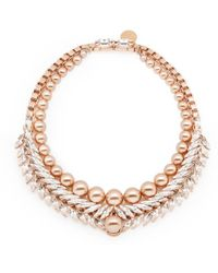 Ellen Conde | Bettie Rose Gold Necklace | Lyst