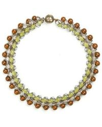 Tataborello - Summer Place Choker Necklace 01 - Lyst