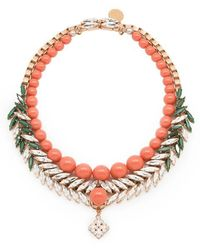 Ellen Conde - Bettie Coral Necklace - Lyst