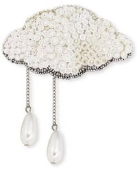 Forest Of Chintz | Silver Lining Brooch | Lyst