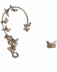 Bernard Delettrez - Bronze Butterflies Ear Cuff And Earring - Lyst
