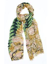 Kekkai - Flower Patch Bling Cashmere Blend Scarf - Lyst