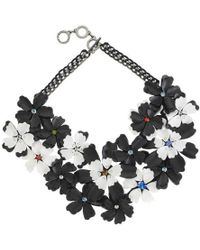 Forest Of Chintz - Graphic Bloom Necklace - Lyst
