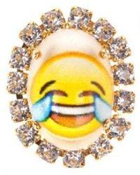 "Bijoux De Famille | ""lol Emoji"" Cabochons Pins | Lyst"