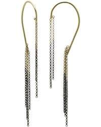Caterina Zangrando - Two Tone Daisy Earrings - Lyst