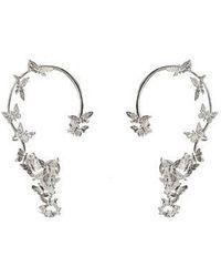 Bernard Delettrez - Butterflies Silver Ear Cuffs - Lyst