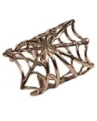 Bernard Delettrez | Bronze Web Ring | Lyst