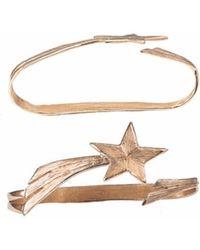 Bernard Delettrez - Shooting Star Bronze Hand Bracelet - Lyst