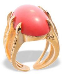 Hissia | Adjustable Coral Sira Ring | Lyst