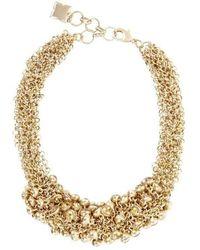 BCBGMAXAZRIA - Drop Stone Necklace - Lyst
