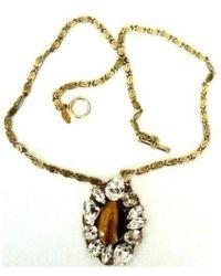 Anton Heunis - Brazilian Agate Swarovski Crystal Pendant - Lyst