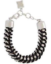 BCBGMAXAZRIA - Bcbg Maxazria Box Chain Bracelet - Lyst