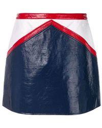 Courreges - Straight Mini Skirt - Lyst