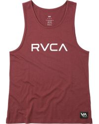 RVCA - Big Tank Top - Lyst