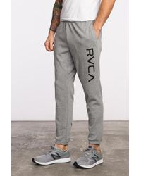 RVCA - Big Sweat Pant - Lyst