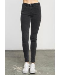 RVCA - Hi Roader High-waist Denim Jeans - Lyst