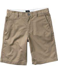 "RVCA - Americana 22"" Shorts - Lyst"