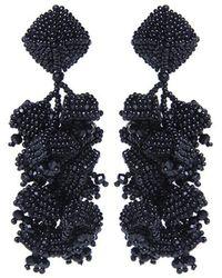 Sachin & Babi - Grapes Earrings | Black - Lyst