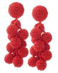 Sachin & Babi - Coconut Beaded Dangle Earrings - Lyst