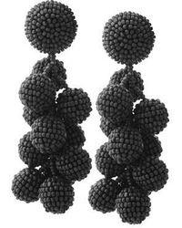 Sachin & Babi - Coconuts Earrings | Black - Lyst