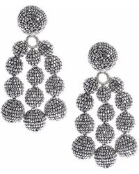 Sachin & Babi - Trinity Earrings - Silver - Lyst