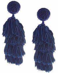 Sachin & Babi - Chacha Earrings | Navy - Lyst
