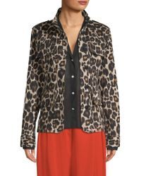 Robert Rodriguez - Printed Military Jacket - Lyst