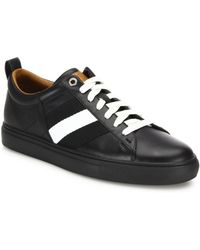 Bally - Helvio Lace-up Leather Trainers - Lyst