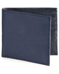 Saks Fifth Avenue - Carbon Fiber Bifold Wallet - Lyst
