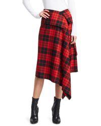 Monse - Blanket Wrap Skirt - Lyst