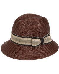 Barbisio - Men s Brisa Panama Hat - Brown - Size 59 (l) - Lyst cc206c64c0d