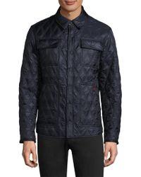 Rainforest - Diamond Quilted Shirt Jacket - Lyst