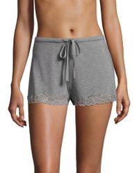 Natori - Feather Essential Knit Shorts - Lyst