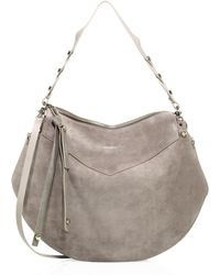 Jimmy Choo - Artie Suede Shoulder Bag - Lyst