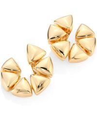 Vhernier - Freccia Medium 18k Rose Gold Clip-on Hoop Earrings/1 - Lyst