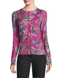 ESCADA - Sewanda Wool & Silk Cardigan - Lyst