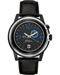 Breil - Dual Time Strap Watch - Lyst