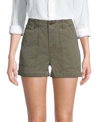 Joe's - High-rise Army Shorts - Lyst