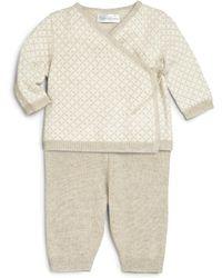 Ralph Lauren - Baby's Two-piece Cashmere Sweater & Pants Set - Lyst