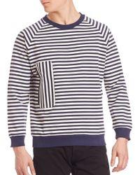 Timo Weiland - Zip Pocket Sweatshirt - Lyst