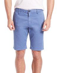 Strellson - Cotton Chino Shorts - Lyst