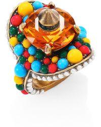 Gucci multi-beaded ring mUuOauNJmt