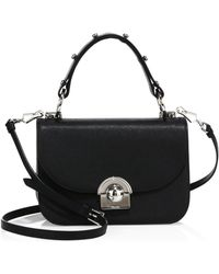 best choice purses - The row Painted Multipouch Leather Crossbody in Black (black-multi ...