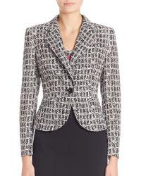 ESCADA - Graphic Cotton Jacket - Lyst