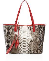 prada python crocodile baiadera frame bag