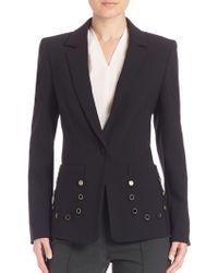 ESCADA - Long Sleeve Jacket - Lyst