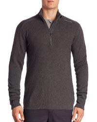 Porsche Design - Knitted Wool-blend Sweater - Lyst