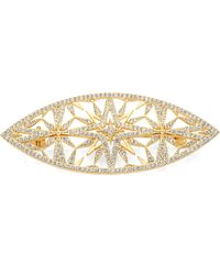 Adriana Orsini - Holiday Pave Marquis Star Brooch - Lyst