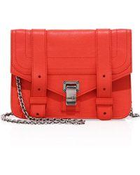 Proenza Schouler - Ps1 Leather Chain Wallet - Lyst